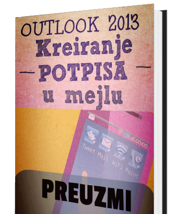 Potpis Outlook 2013
